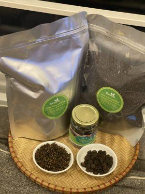 hạt mắc khén bảo quản trong túi zip bạc
