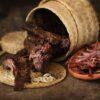 thịt bò gác bếp